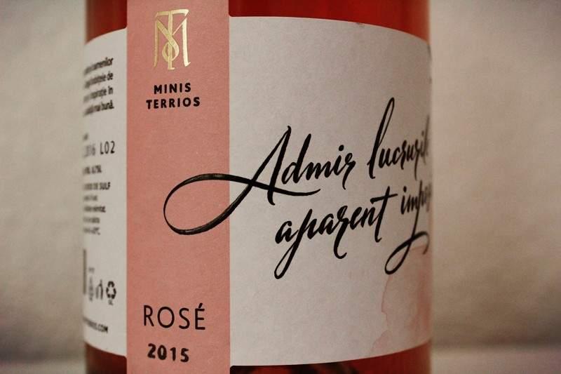 Minis Terrios vinuri – Rosé Fetească Neagră