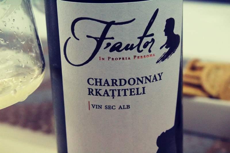 Cupaj cu staif Chardonnay si Rkatiteli by Fautor