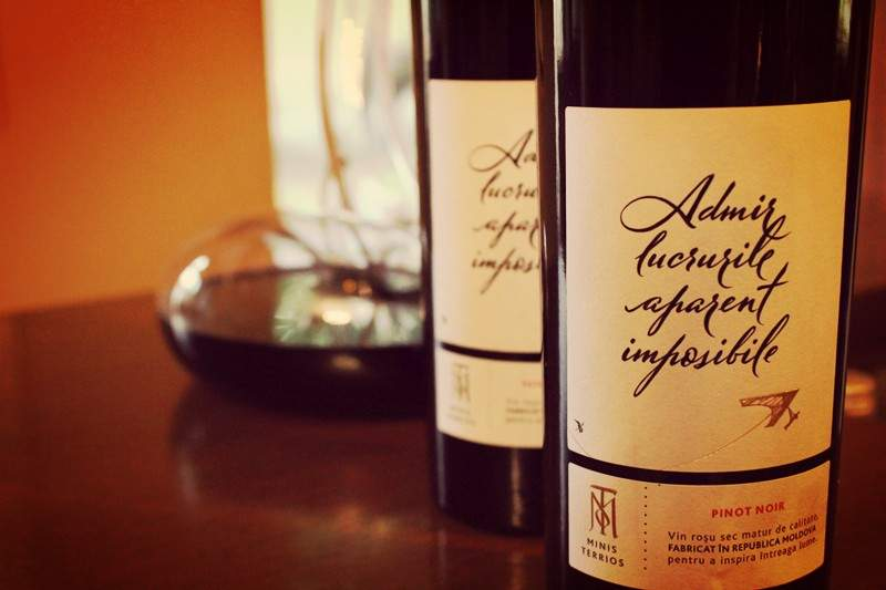 Admir lucrurile aparent imposibile Pinot Noir