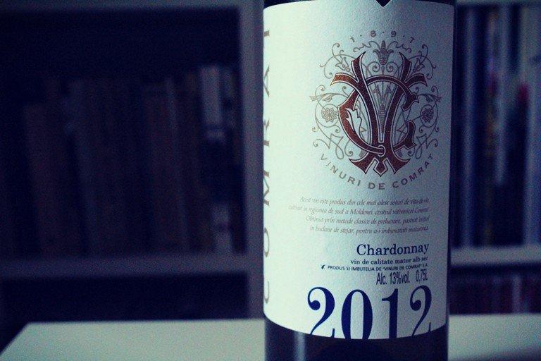 Chardonnay Comrat puțin neînțeles, auster și lemn