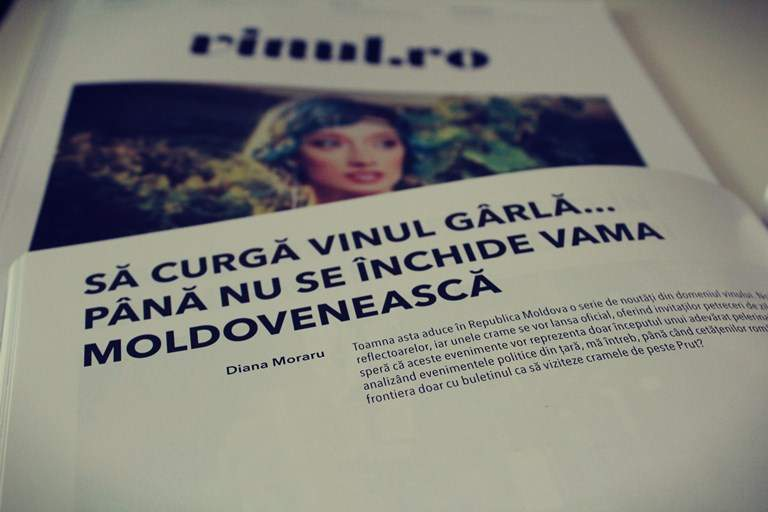 Vinuri moldovenești. Sa curgă vinul gârlă… Până nu se închide vama moldovenească