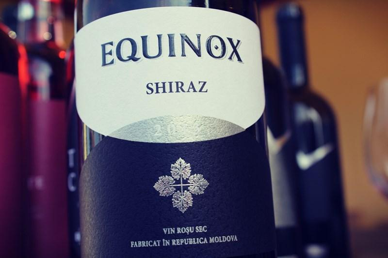Vinuri Equinox -cel mai bun Shiraz din Rep. Moldova