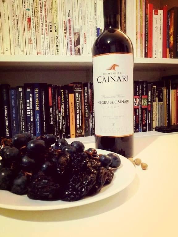 Căinari vinuri. Negru de Căinari cu gust de prune confiate