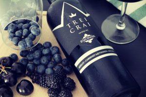Trei Crai Equinox - vinul regilor. Vin roșu fără sulfiți 1