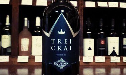 Trei Crai Equinox – vinul regilor. Vin roșu fără sulfiți