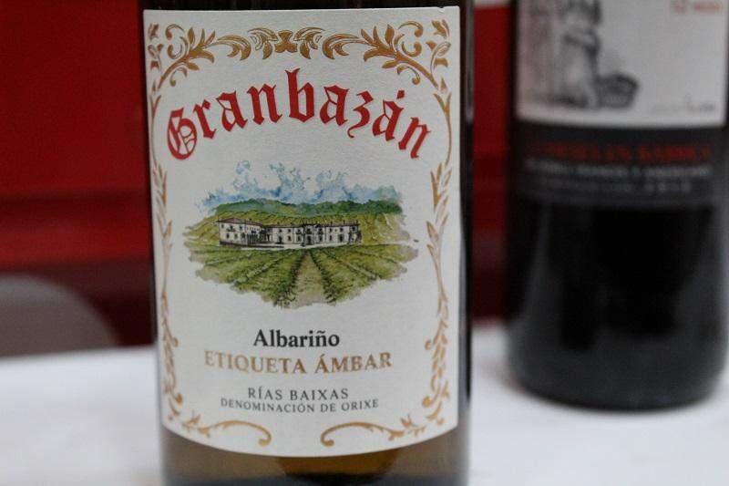 Albarino vin Granbazan 2016 prospețimea verii