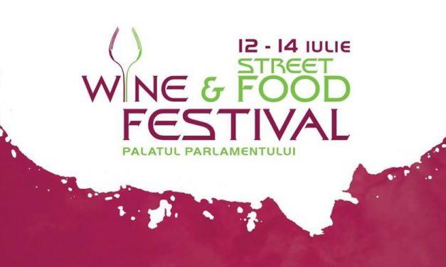 Wine and Street Food Festival – ediția de vară de la Parlament