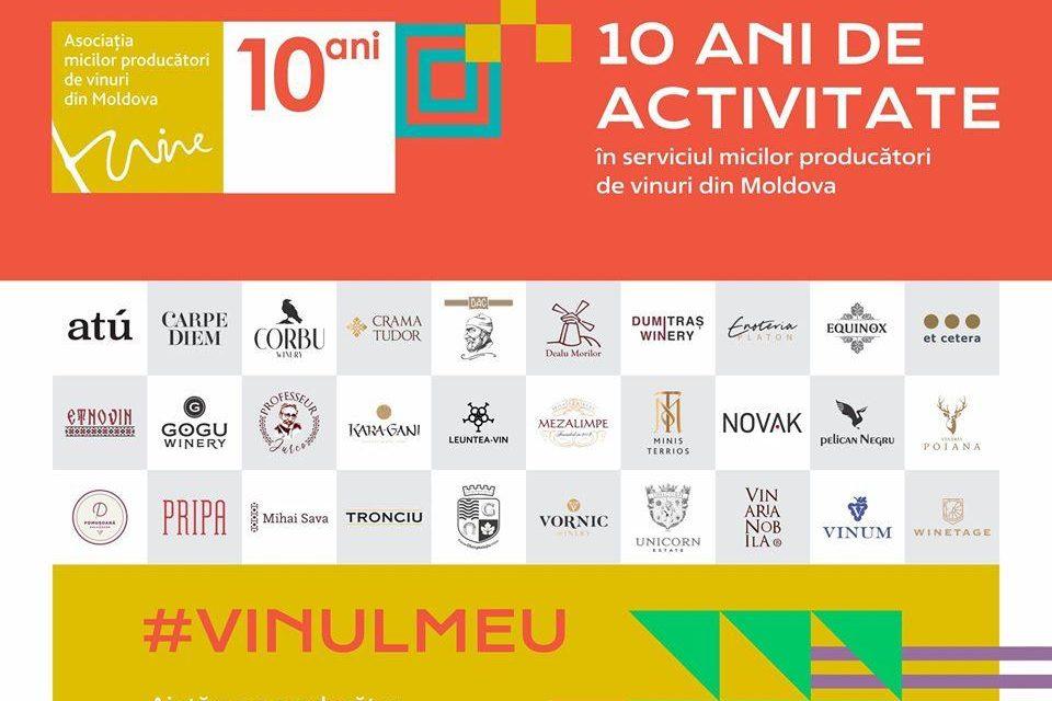 10 ani de vinuri bune de la Micii Producători din Moldova