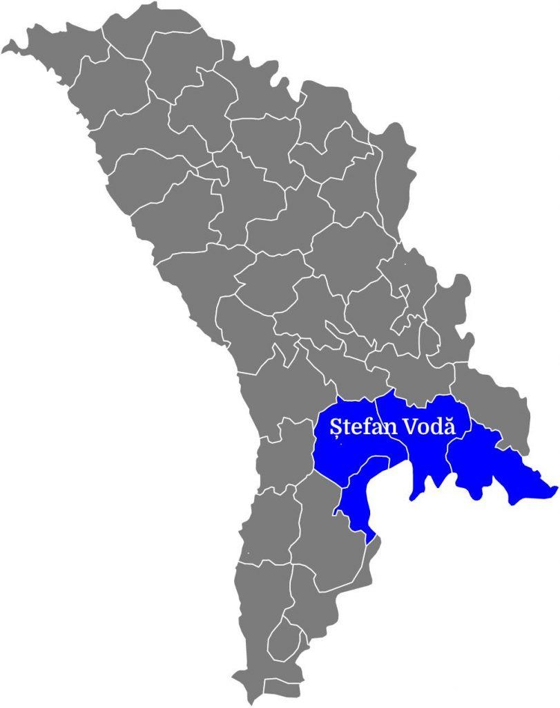 Regiunea Ștefan Vodă - microzone 1